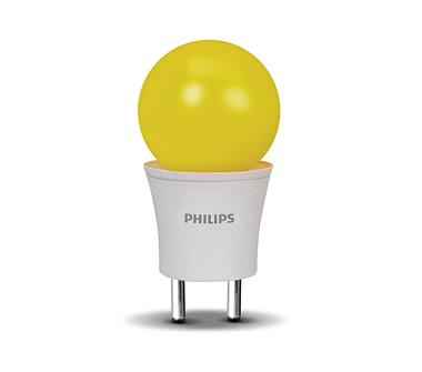 0.5W (15W) 2 Pin Yellow Bulb (Straight)