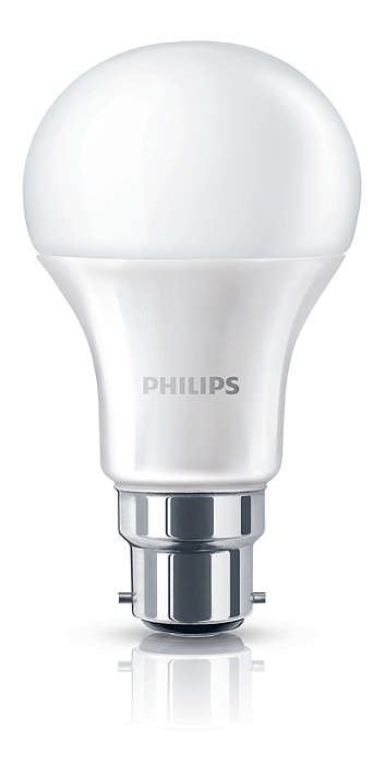 Experience warm white LED light
