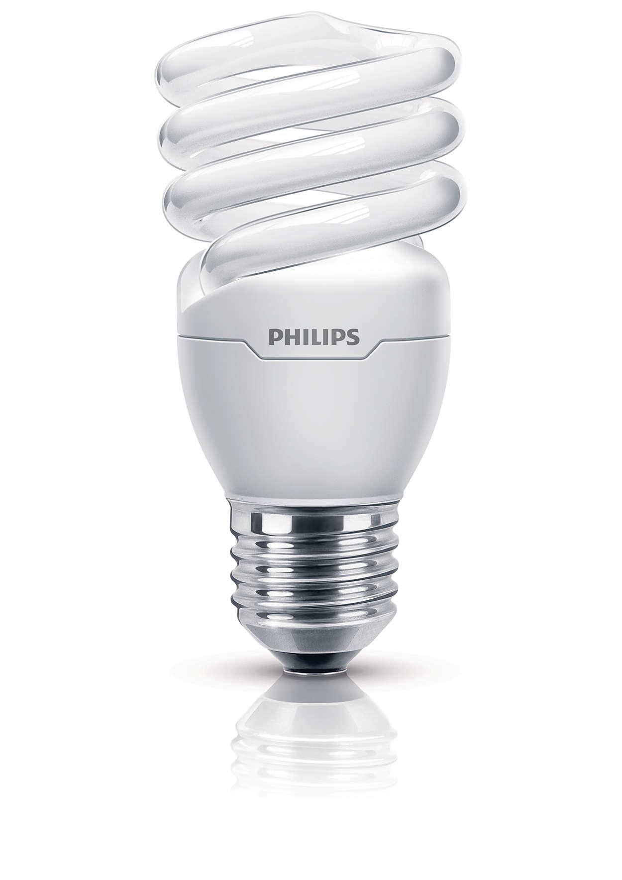 Tornado Ampoule à économie d'énergie spirale 8727900929461  Philips