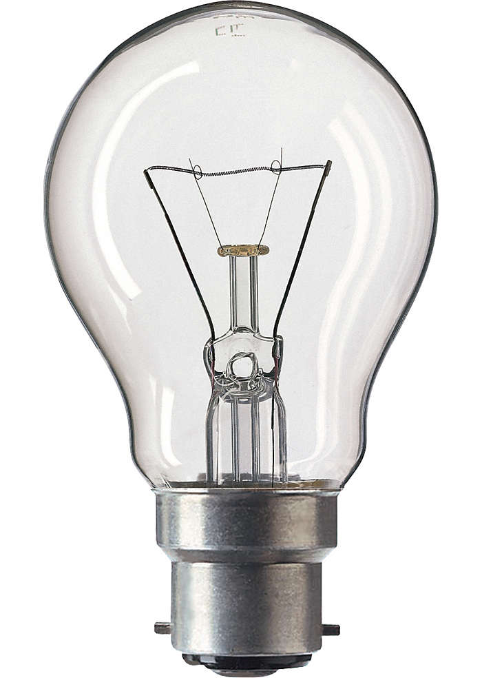 Classictone 100w B22 220 240v A55 Cl 1ct Classictone Standard Incandescent Lamps Philips Apr