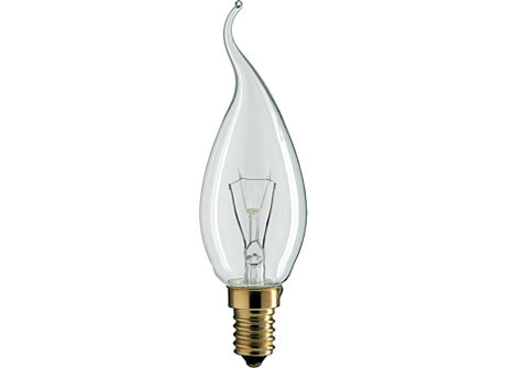Deco 40W E14 230V BXS35 CL 1CT
