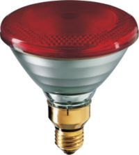 PAR38 IR 100W E27 230V Red 1CT