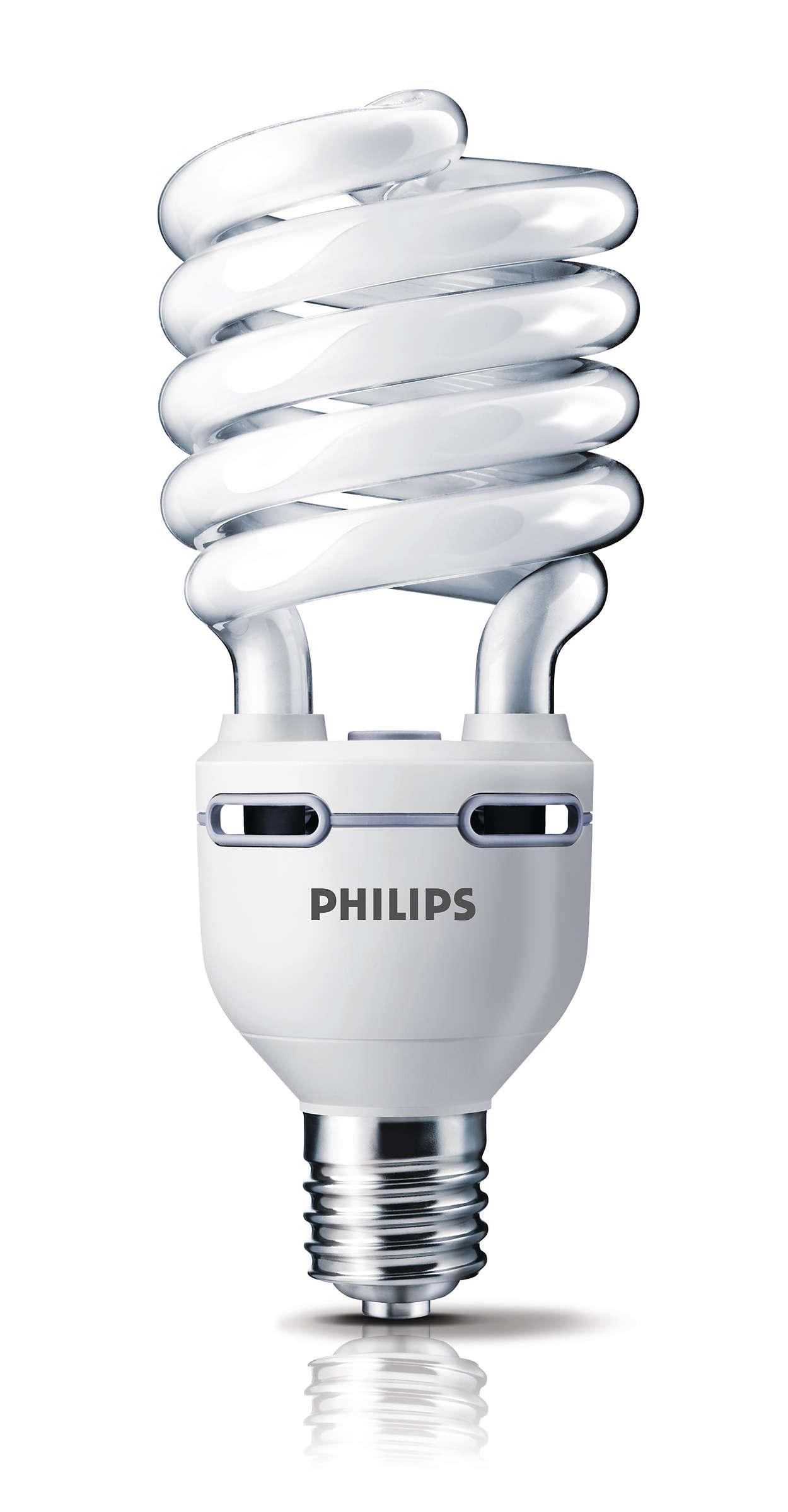 Ecotone High Lumen Spiral Energy Saving Bulb 929676000904 Philips