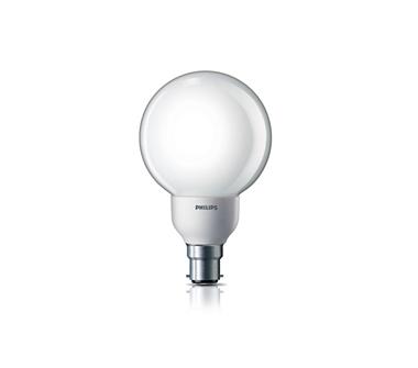 Ambiance Globe Energy Saving Bulb (14 W B22 Warm White)