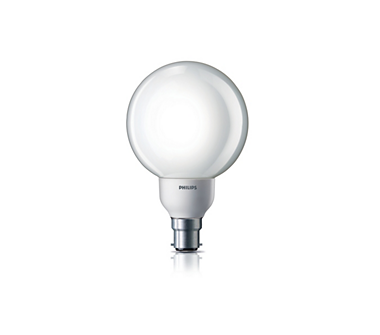 Ambiance Globe Energy Saving Bulb (18 W B22 Cool Daylight)