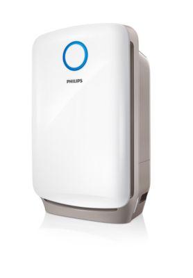 Bild von Philips 2-in-1-Kombigerät zur Luftreinigung u. -befeuchtung AC4080/10
