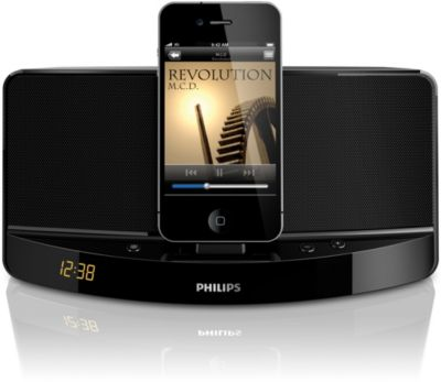 Philips docking speaker AD300 for iPod/iPhone Clock display
