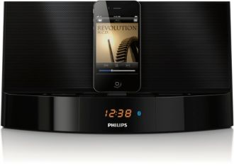 Philips  docking speaker with Bluetooth® for iPod/iPhone AD752/05