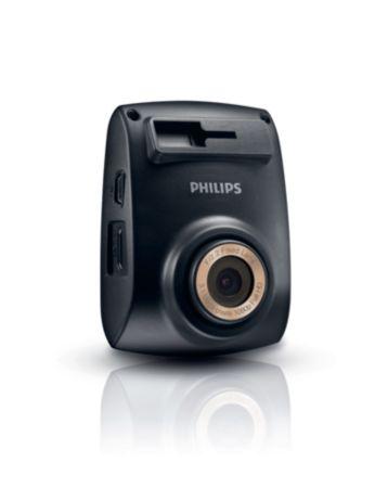 กล้องบันทึกวิดีโอขณะขับขี่รถยนต์ Full-HD 1080p
