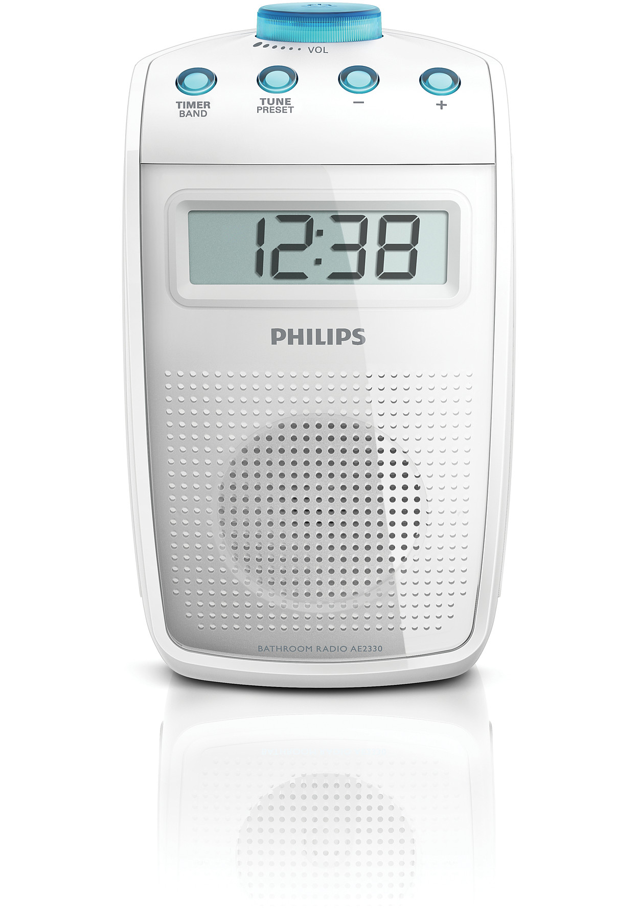 Bathroom radio ae2330 00 philips for Radio salle de bain legrand