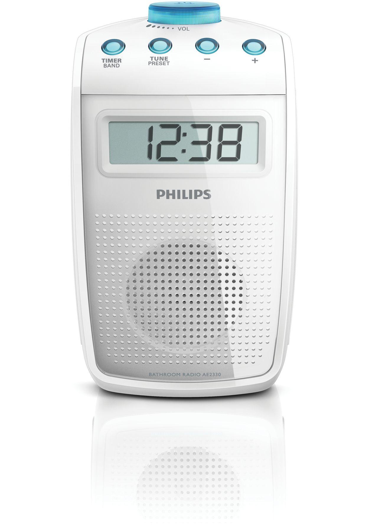 Radio de salle de bains AE233000  Philips