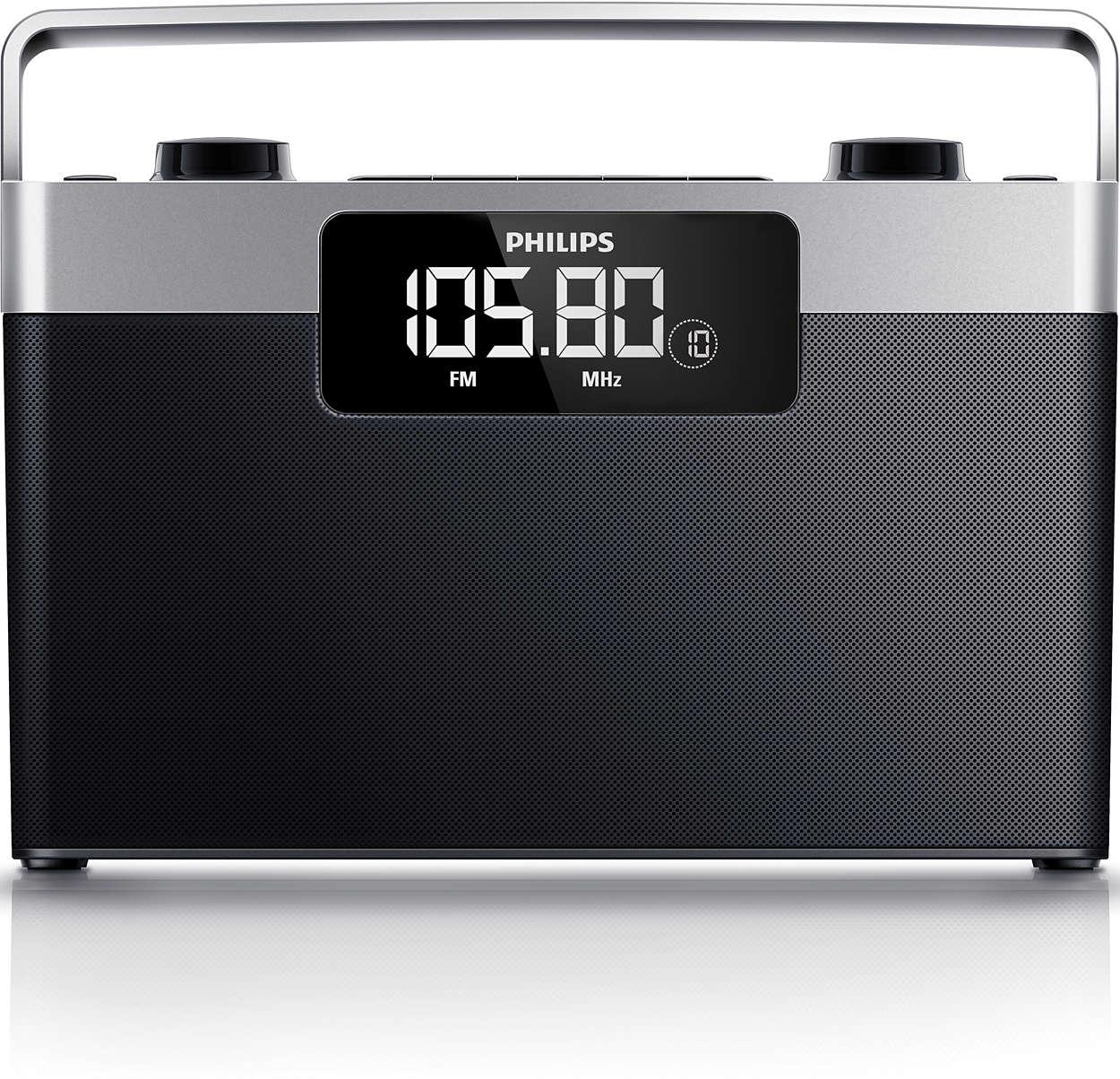 radio portable ae2430 12 philips. Black Bedroom Furniture Sets. Home Design Ideas