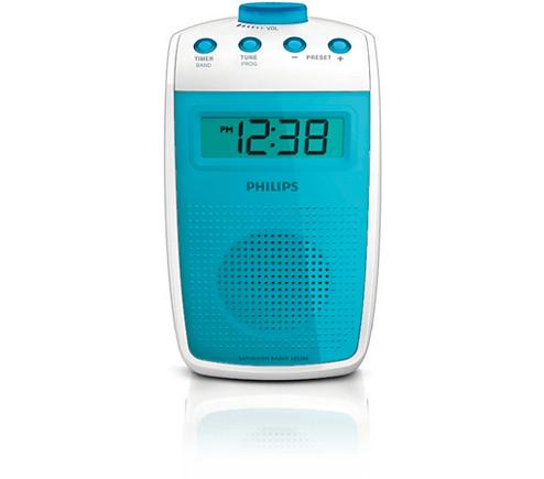 Bathroom radio ae3300 00 philips for Bathroom 00