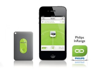 Philips  InRange Bluetooth smart leash for iPhone 5/4S & the new iPad AEA1000/00