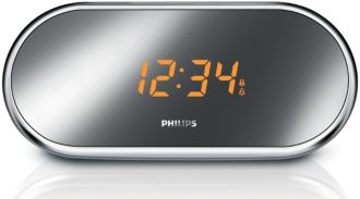 Philips  Clockradio med digital tuning Aluminium AJ1003/12