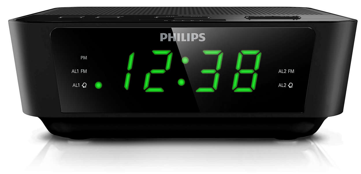 digital tuning clock radio aj3116m 37 philips. Black Bedroom Furniture Sets. Home Design Ideas