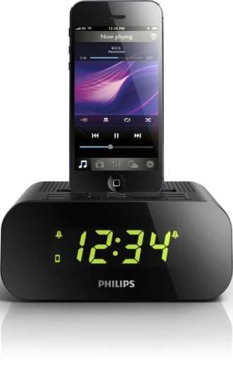 Philips  Radio-réveil pour iPod/iPhone iPhone 5 AJ3275D/12