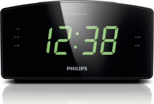 Clock Radio Aj3400 37 Philips