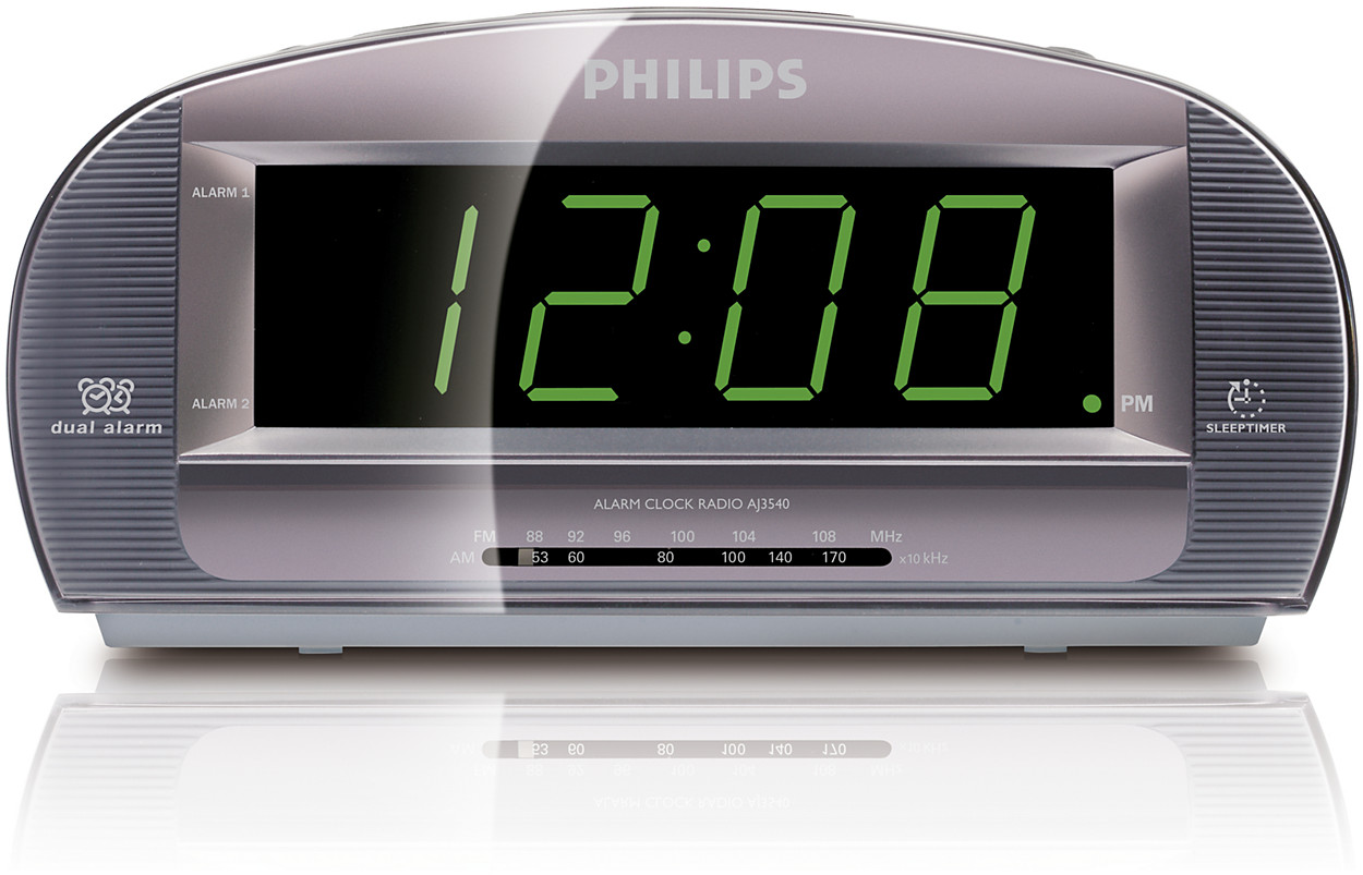 buy the philips clock radio aj3540 37. Black Bedroom Furniture Sets. Home Design Ideas