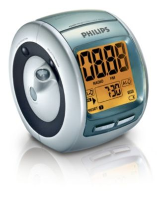 Philips  Clockradio med digital tuning Tidsprojektion AJ3600/00C