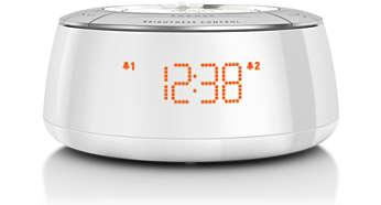 digitaler radiowecker aj5000 12 philips. Black Bedroom Furniture Sets. Home Design Ideas