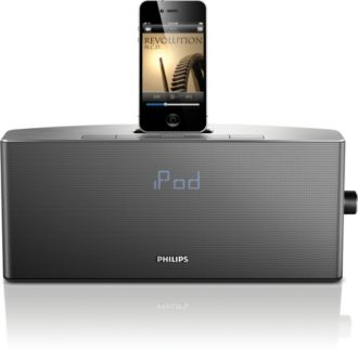 Philips  docking system for iPod/ iPhone App-enhanced AJ7035D/37