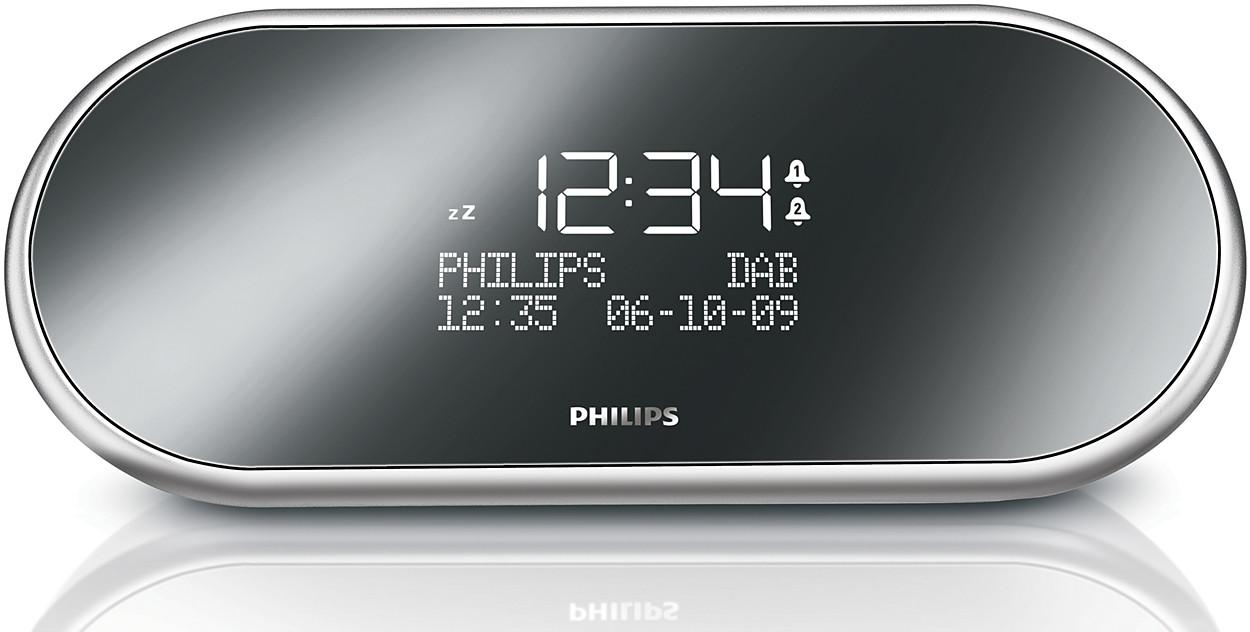 buy the philips digital tuning clock radio ajb1002 79. Black Bedroom Furniture Sets. Home Design Ideas