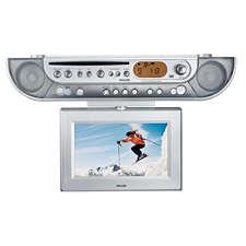 Ajl700 37 philips radio cd de cuisine avec minuterie for Radio de cuisine
