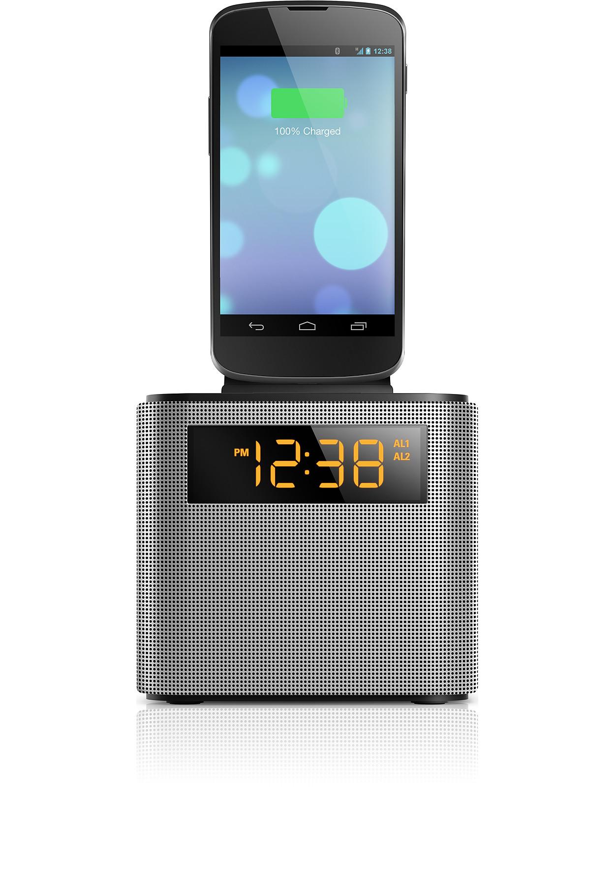 buy the philips clock radio ajt3300 37. Black Bedroom Furniture Sets. Home Design Ideas