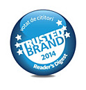 Reader's Digest Trusted Brand 2014