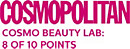 8 of 10 points at the COSMOPOLITAN Beauty Lab
