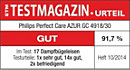 ETM TESTMAGAZIN - Philips GC4918/30 - GUT