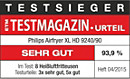 ETM TESTMAGAZIN - Philips HD9240/90 - SEHR GUT