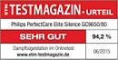 ETM TESTMAGAZIN - Philips PerfectCare Elite Silence GC9650/80 - SEHR GUT