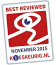 KIESKEURIG.NL - BEST REVIEWED - NOVEMBER 2015
