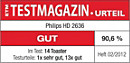 ETM TESTMAGAZIN – Philips HD2636/20 – GUT