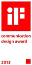 iF - communication design award 2013
