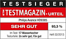 ETM TESTMAGAZIN - Philips HD9385 - SEHR GUT