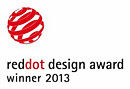 ganador del premio red dot design award 2013