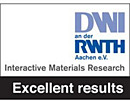 DWI RWTH – Excellent results