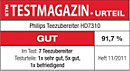 ETM TESTMAGAZIN – Philips HD7310 – GUT