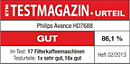 ETM TESTMAGAZIN – Philips HD7688 – GUT