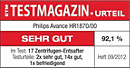 ETM TESTMAGAZIN – Philips HR1870/00 – SEHR GUT