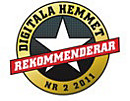 Recommended by Digitala Hemmet 2011