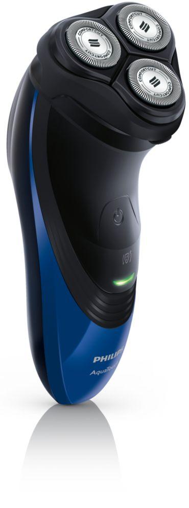 Philips NIVEA AquaTouch Rasoir électrique rasage à sec ou sous l
