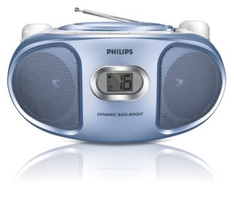 Philips  CD Soundmachine Blue AZ102N/98