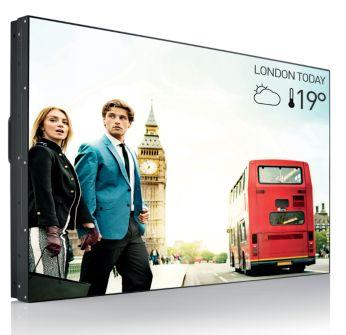 49 inch videowandscherm met Direct LED-achtergrondverlichting