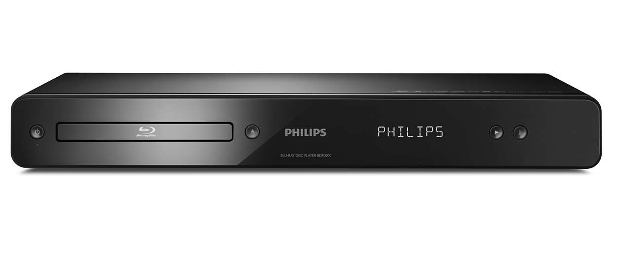 blu ray disc player bdp3000 12 philips. Black Bedroom Furniture Sets. Home Design Ideas