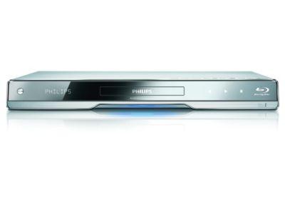 Philips 7000 series Blu-ray Disc-speler BDP7500S2 Zilver aluminium, geschikt voor Wi-Fi en 3D