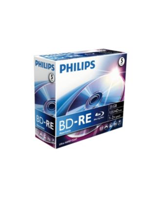 Philips  BD-RE 25GB / 135min single layer BE2S2B50F/00